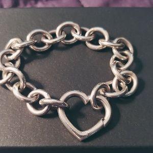 Authentic Tiffany Open Heart Bracelet